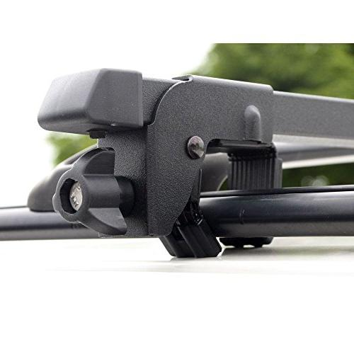 Apex RLB-2301 Universal Side Rail Mounted Steel Roof Bars