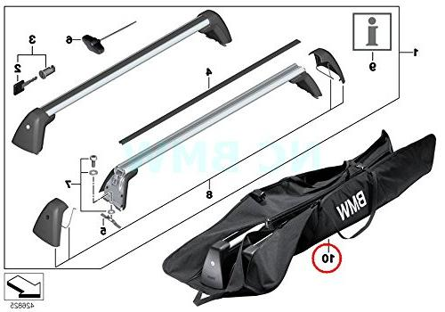 BMW Genuine Roof Rack Bag