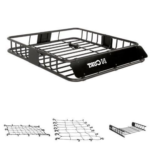 Curt Cargo Rack, Cargo Rack Extension, Cargo Net, and Extend