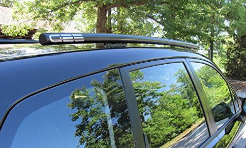Fits Subaru Forester Roof From Performance, Black Stainless Steel, Custom for the Models with a Naked Roof