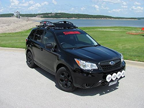 Fits - Subaru Forester 2.5i Roof Rails From Performance, Powder Coated Stainless Steel, for 2.5i Base Models with Roof