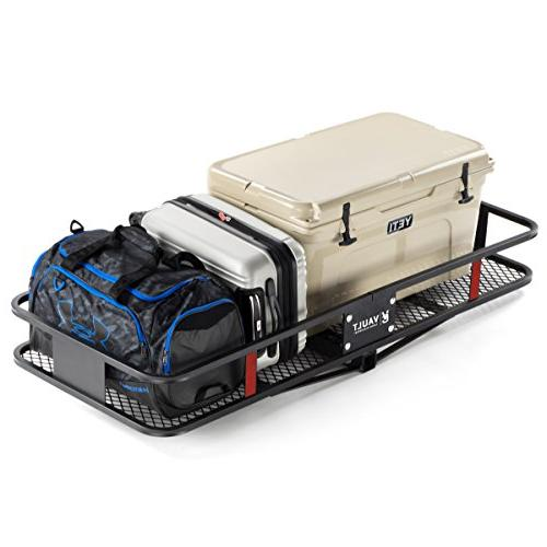 """Hitch Cargo x 24"""" by Vault - with This Constructed Hitch for Your SUV - Hitch Rack Easily Mounts Trailer Towing Hitche"""
