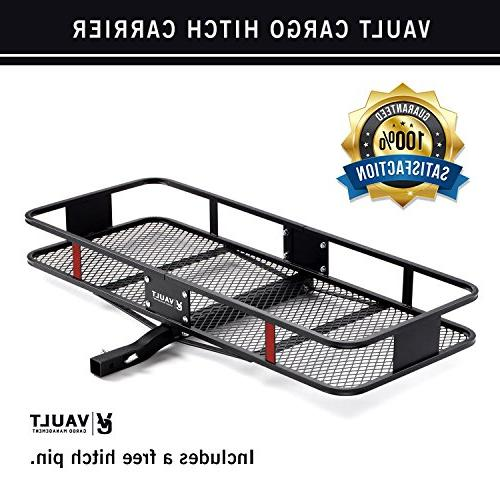 Hitch Cargo x Vault - with Rugged Constructed Rack for Your SUV Easily Mounts to Trailer Towing