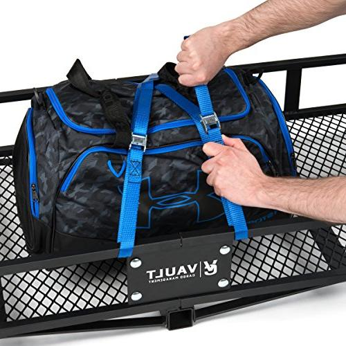 """Hitch Carrier 60"""" - with Rugged Constructed for Truck SUV Easily Mounts Towing"""