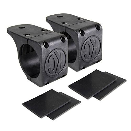 """KC HiLiTES 73071 Universal Tube Clamp Mounts for 1.75/"""" to 2/"""" Round Light Bars"""