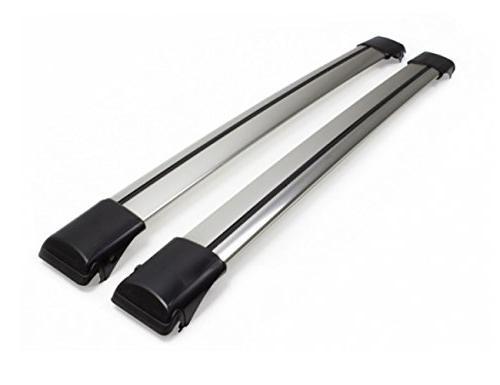 Lockable WingBar Aerodynamic Aluminium Cross Bars Roof Racks