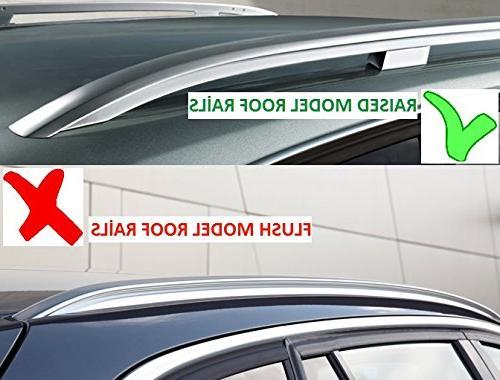Lockable Aerodynamic Cross Roof For BMW SUV