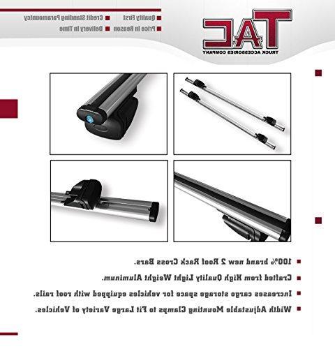 TAC ACCESSORIES COMPANY TAC Roof Rack Bar Aluminum Top Cross Bars