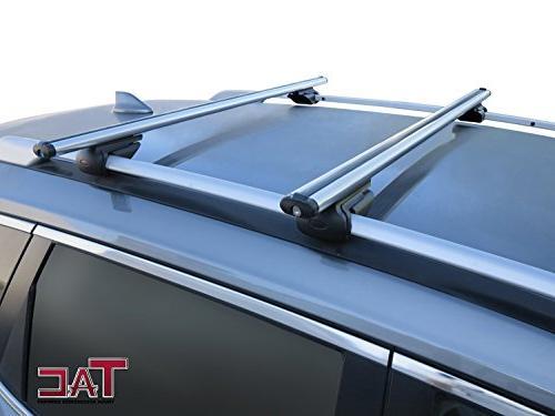 TAC TRUCK ACCESSORIES TAC Rack Bar Aluminum Top Anti-Theft Cross Bars