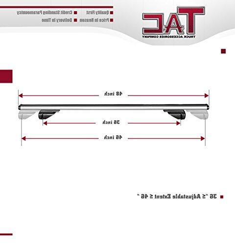 TAC Bar Aluminum Top Cross Bars