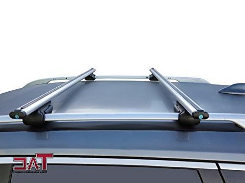 TAC TRUCK COMPANY TAC Bar Aluminum Locking Top Rack Cross Bars