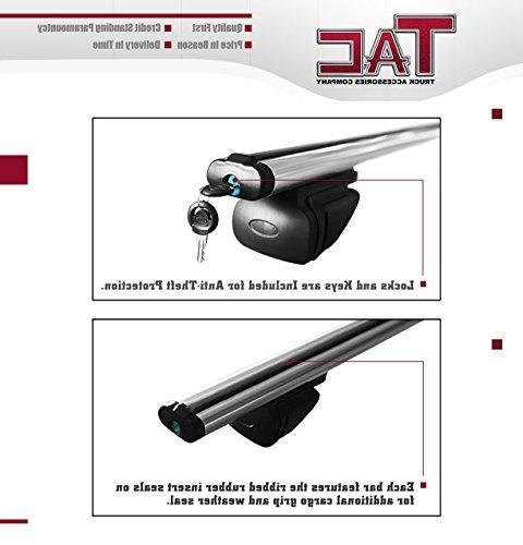 TAC TAC Bar Aluminum Locking Roof Top Cross Bars