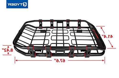 Tyger Auto x Super Roof Basket/Luggage Carrier Rack