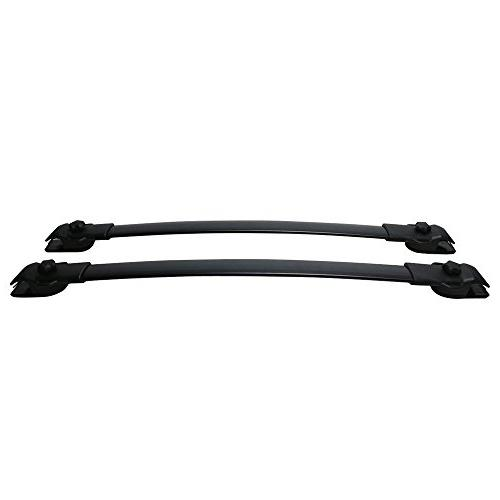 Adjustable Aluminum Mount the Cross Top Rail Carries Luggage 11-17 Toyota