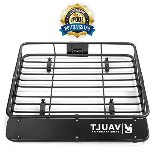 Roof Basket Heavy Cargo Roof Carrier Ideal Spare and Gear - for /