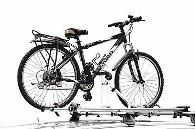 Travel Life Alloy Car Roof Bicycle Carrier Rack for 2 Bikes Max Load 66 lbs