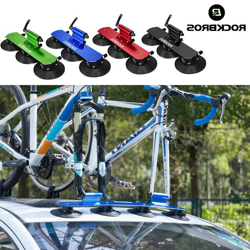 bicycle car rack carrier suction roof top