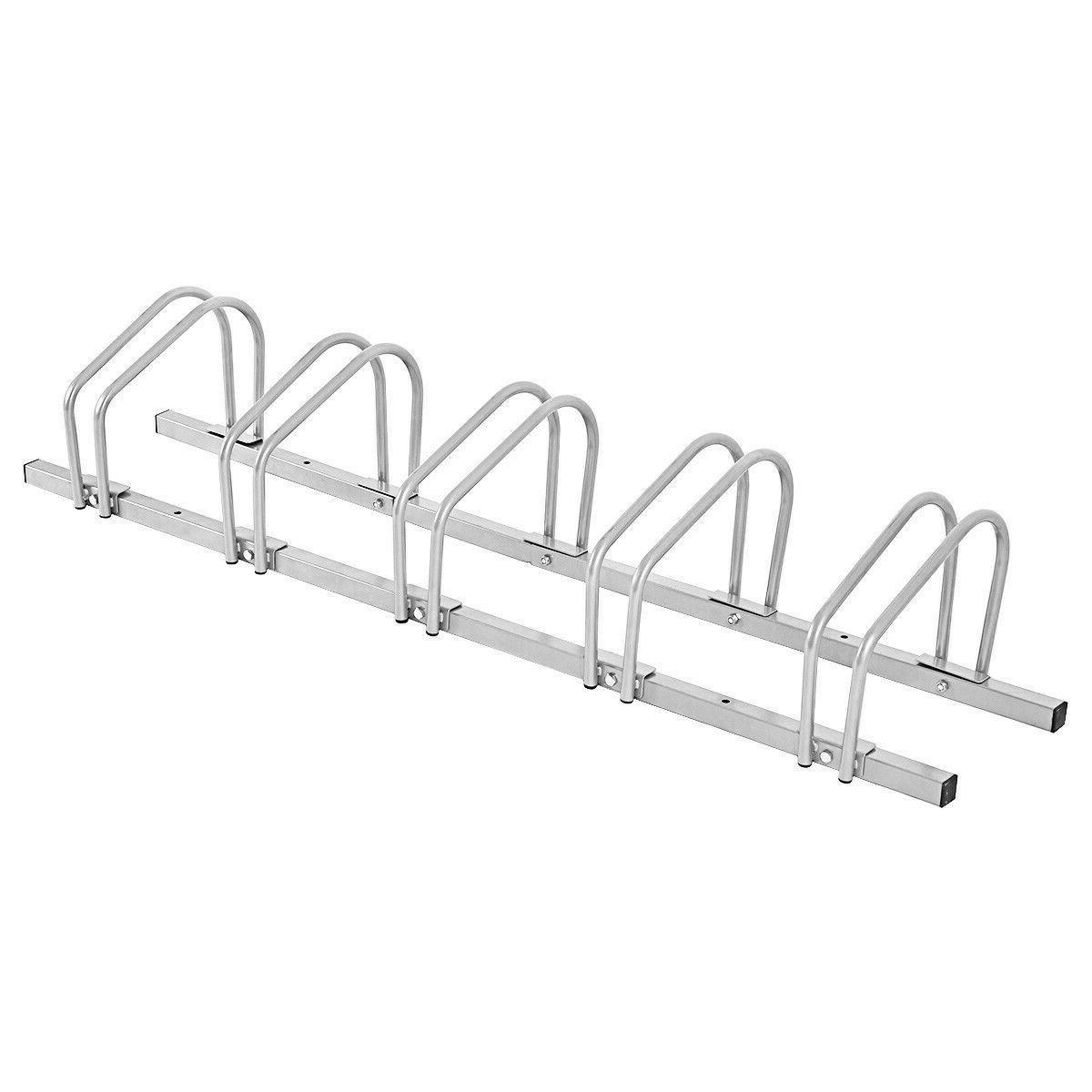 Bike Rack Garage Storage Parking 5 Duty NEW