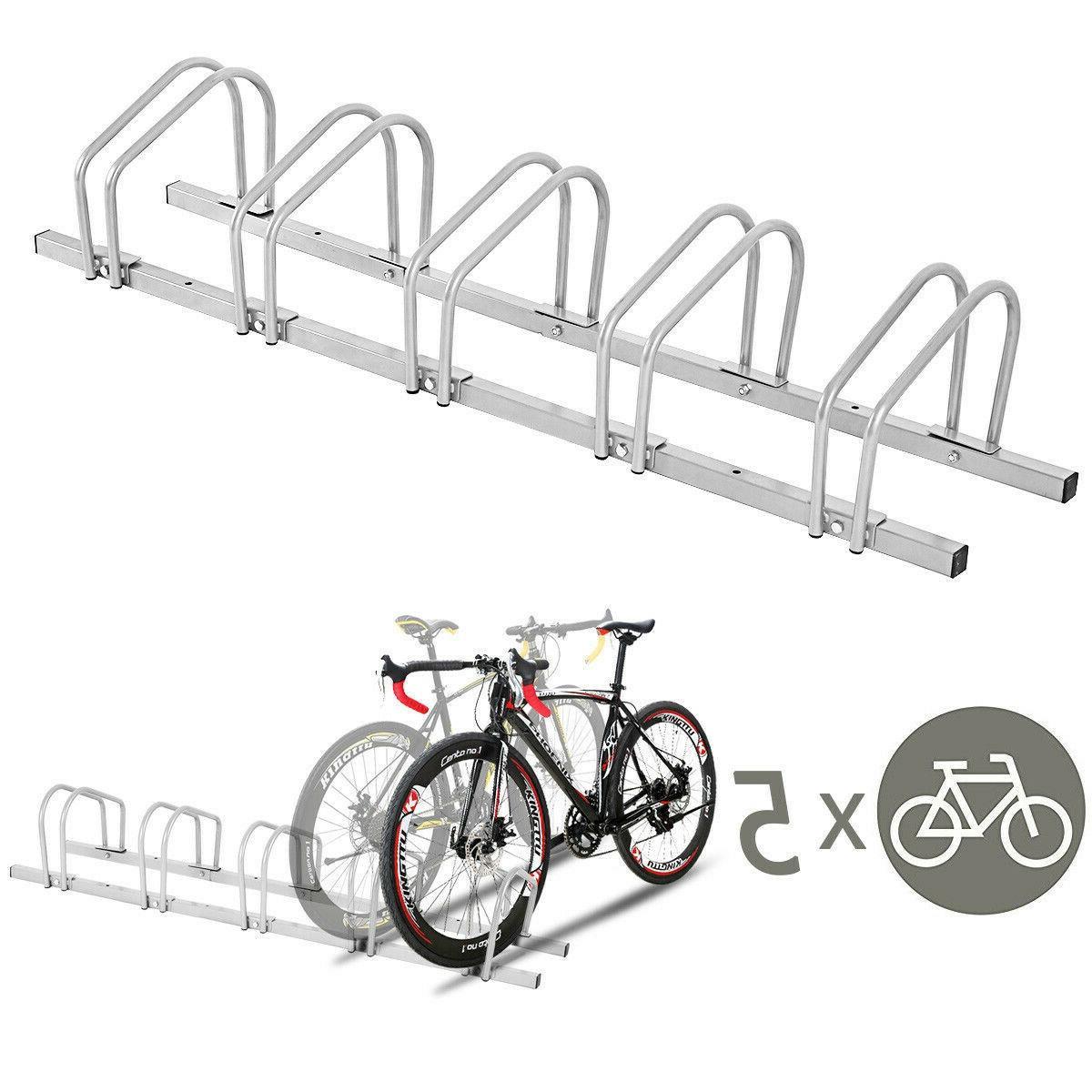 Bike Stand Storage Parking Steel 5 NEW