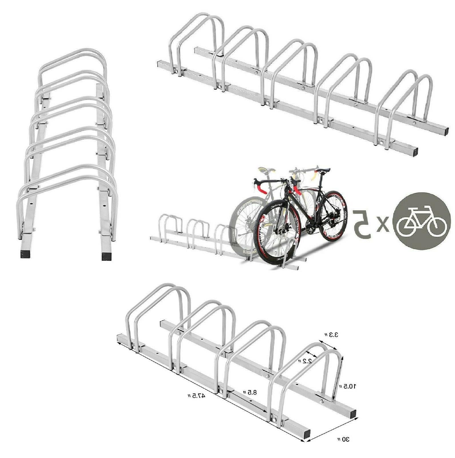 bike rack stand garage storage parking steel