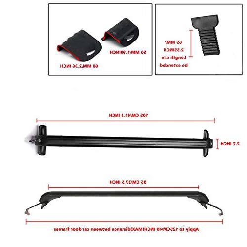 Bowoshen Universal Roof Rack Cross Without Lockable Safe