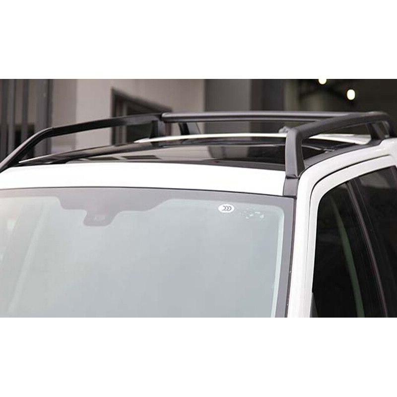 Car accessories black Installation aorizontal bar horizontal bar <font><b>roof</b></font> bar For 2011-2017