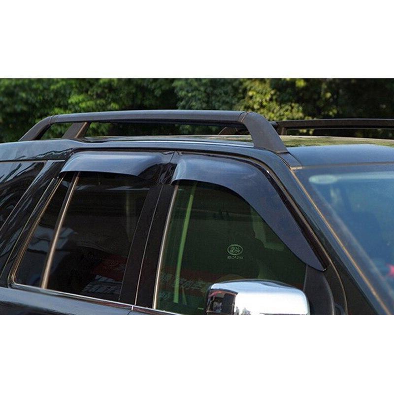 Car black <font><b>bolt</b></font> Installation aluminum aorizontal bar bar <font><b>roof</b></font> 2011-2017