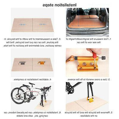 Car Bicycle Truck Bicycle Rack Support Block