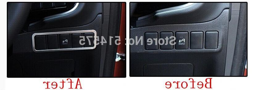 Car Car button trim cover Mitsubishi 2013 2014