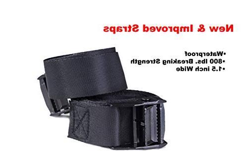 Car Bag Bundle- 100% Waterproof Cargo NO NEEDED Non Roof Mat bag, Van or SUV