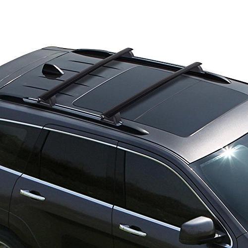 Yescom Roof Cross Bar Luggage Carrier Rack for 2011-2017