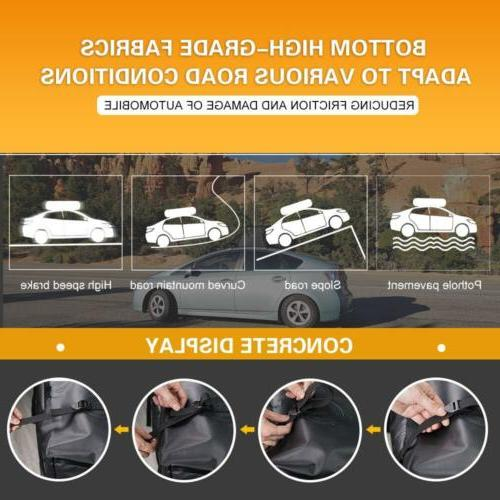 Cargo Carrier Bag Mount Luggage Rack Expanding SUV