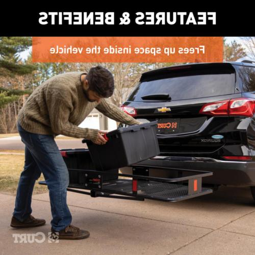 Cargo Carrier Bed Basket-Style 500 Capacity Raised
