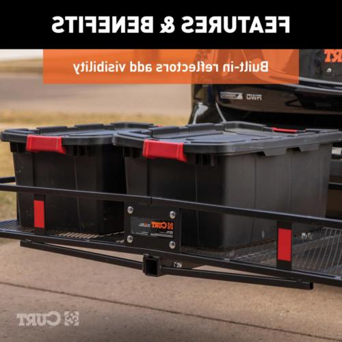 Cargo Carrier Truck Basket-Style lbs Capacity Folding