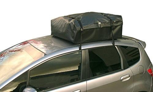 RoofBag 100% Waterproof, in Seal 2 Year Warranty, ALL Rails, Cross No Rack, includes Heavy