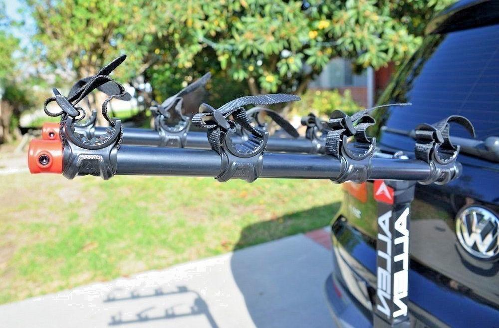 deluxe 4 bike hitch mount rack