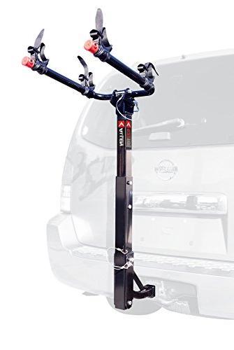 Allen Sports Deluxe 2-Bike Hitch Mount Rack , Silver/Black