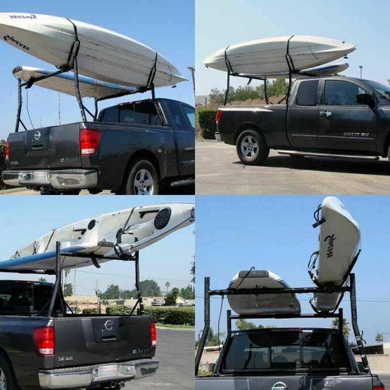 2 Pairs Kayak Boat Surf Roof Car J-Bar