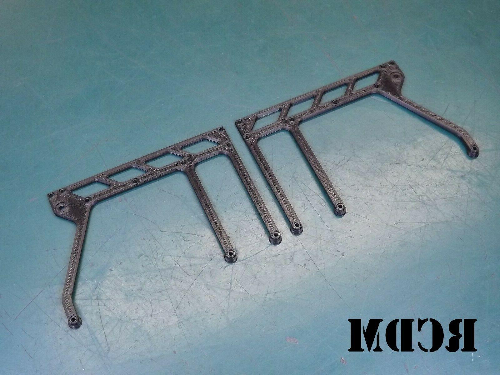 front roof rack replacement side support set