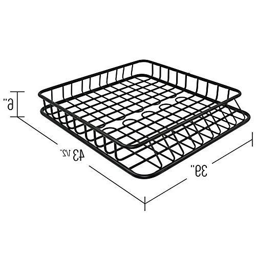 Apex Heavy Roof Rack Basket