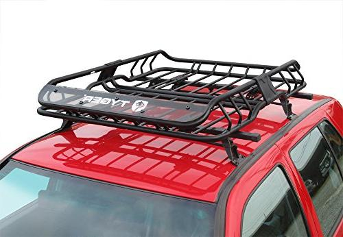 Tyger Heavy Mounted | L47 W37 x Top Luggage Carrier with