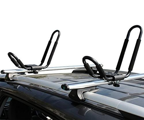TMS 2 Pairs Boat Top Mount Car Crossbar