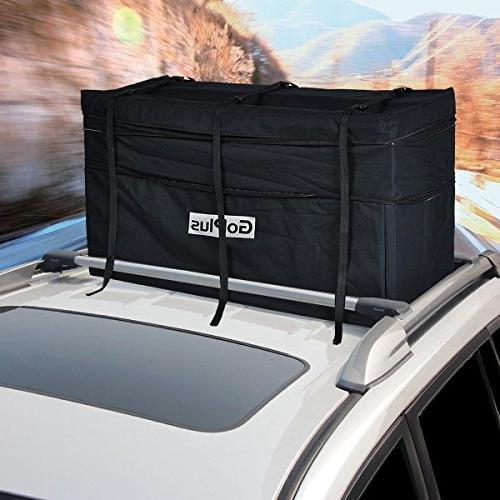 Goplus Jumbo Car Black Rainproof Cargo
