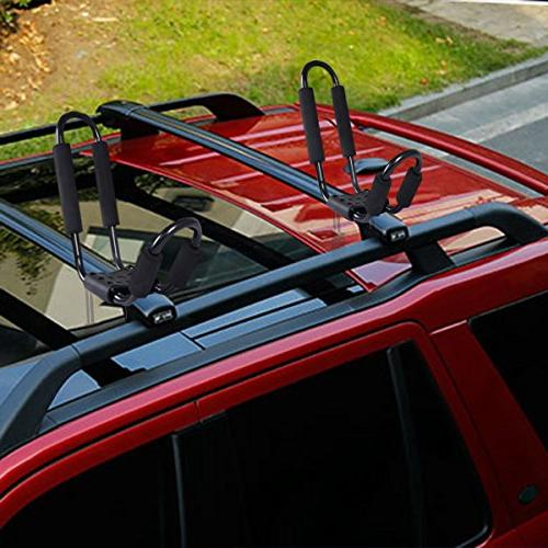 Goplus 2 Pair Rack Surf Ski Top on SUV Van