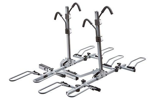 lock tilt platform hitch rack