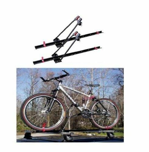 Locking Upright Roof Rack Set of 2 Bicycle Bike Universal Mo