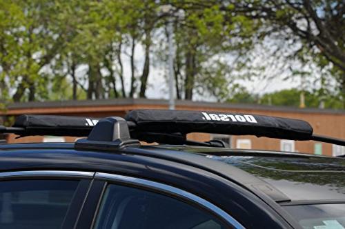 Dorsal Pads for Car Surfboard Kayak SUP Wide Bar Racks 28 Long