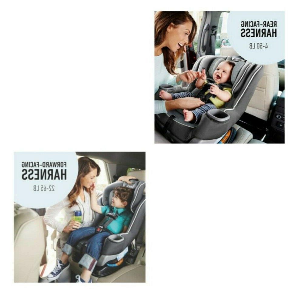 Ride Rear-Facing Longer Graco Extend2Fit Car Seat