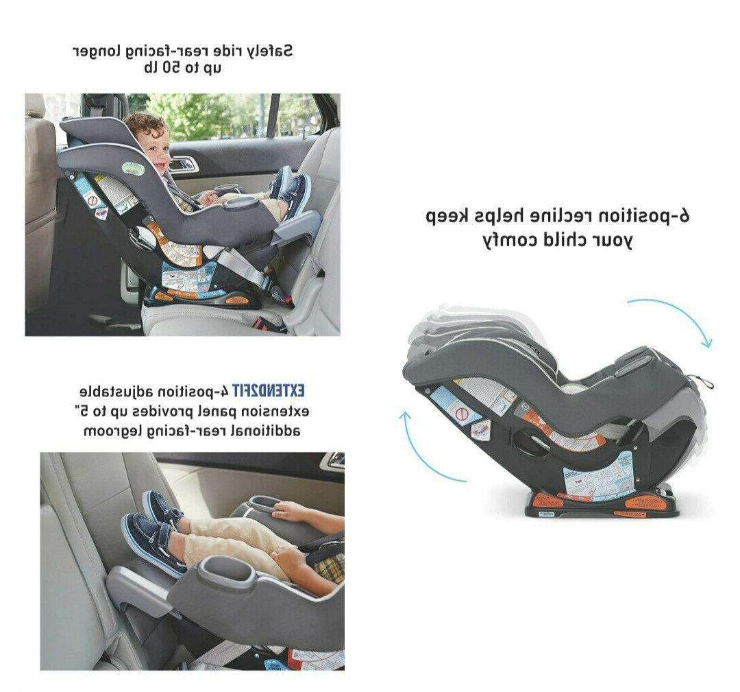 Ride Rear-Facing Longer with Graco Extend2Fit Seat