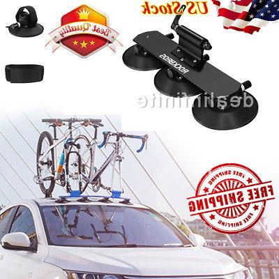 rockbros bike bicycle rack carrier suction roof